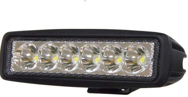 Strands Vinnuljós með 6 LED ljósum