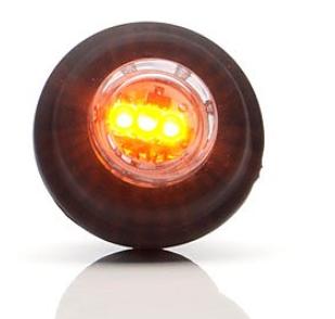 Strands gult LED hliðarljós